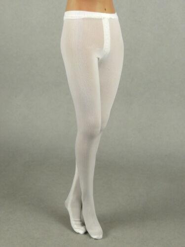 Kumik Hot Toys ZC Female White Pantyhose 1//6 Scale Cy Girl NT TTL Phicen