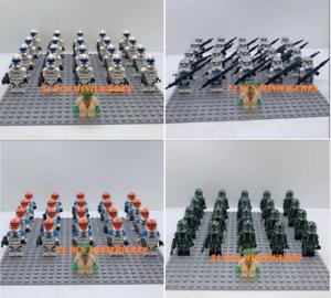 21-pcs-minifigures-lego-MOC-Army-Trooper-501-st-Legion-command-Yoda-Star-War