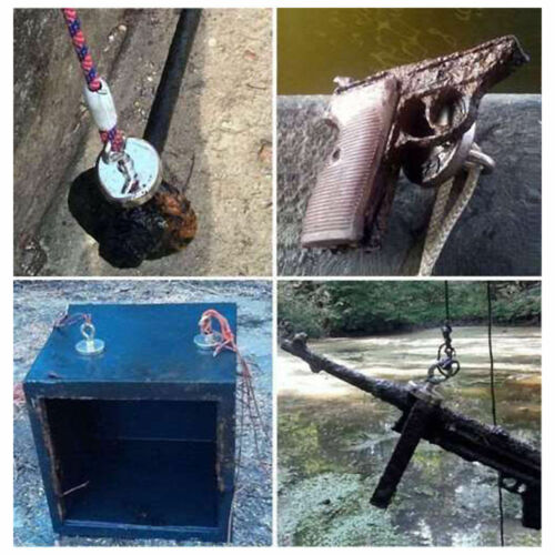 Home Fishing Storage Tool Magnetic 90//150//180LBs Neodymium Magnet Eyebolt 1-10Pc