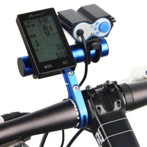 MTB Bike Handlebar Extender Extension Expand Mount Computer Light Holder Bracket