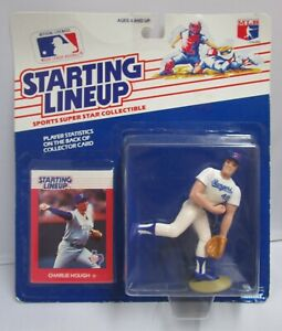 1988  CHARLIE HOUGH - Starting Lineup (SLU) Baseball Figure & Card - RANGERS