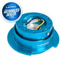 New Nrg Steering Wheel Quick Release Gen 25 New Blue Ring Hardware Srk 250nb