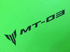 MT03 Logo for Race Road or Track bike fairing PAIR ref #113