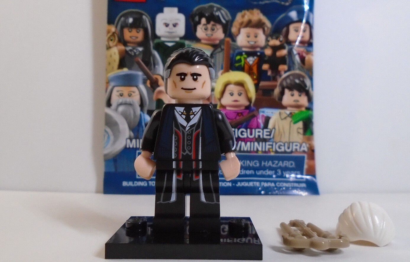 Lego 71022 Percival Graves Grindelwald X2 Lot Extremely Rare