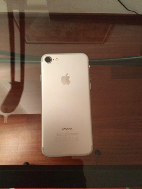 iPhone 7 128gb silver Ottime Condizioni
