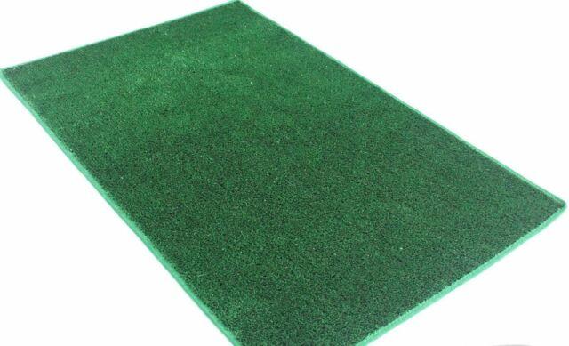 Outdoor Turf Rug Green Artificial Grass Indoor Deck Patio Carpet Mat 12 X 26 For Sale Online Ebay
