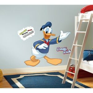 Image Is Loading Donald Duck Giant Wall Decals Mickey Mouse