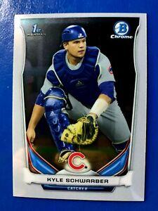 Kyle-Schwarber-2014-Bowman-Chrome-Draft-RC-1st-Bowman