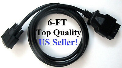 Genisys Touch and Encore Replacement 3893-05 Midrange VCI OBDII cable for MVCI