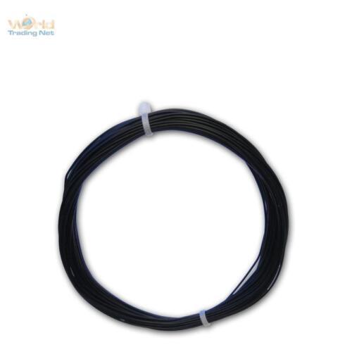 0,24 €//m 10m trefolo NERO-einadrig flessibile 0,14mm²