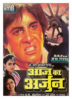 Aaj Ka Arjun Amitabh Bachan Bollywood Movie Posters Classic Indian Films |  eBay