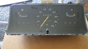 Tacho, Kombiinstrument, GM Rarität Opel Kadett E, Teile Nr. 90 034 455