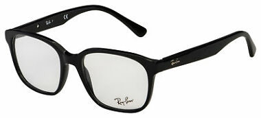 Ray-Ban Unisex Polished Black Frame Eyeglasses