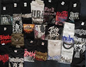 20x-DEATH-METAL-T-SHIRTS-PAKET-2-Gr-S-DEATH-Metal-Heavy-NEU