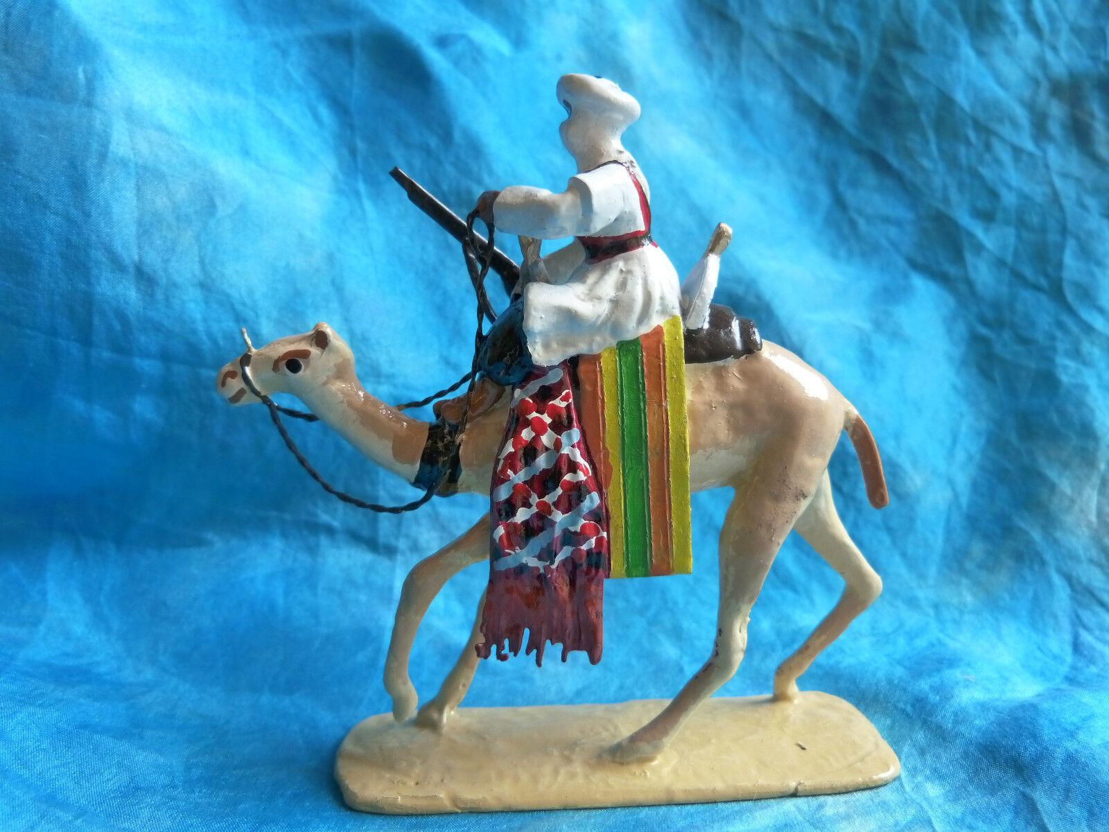 Soldat de plomb typ jouglet - m é hariste n ° 2 (kamel corps) - arm é es coloniales