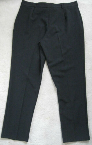 diff Petite size Dorothy Perkins Black Tailored Crop Jeans Trouser NEW