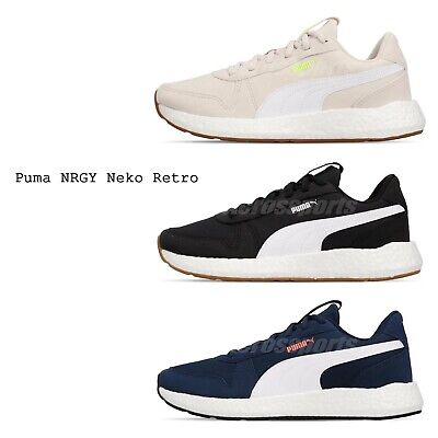 Puma NRGY Neko Retro Mens Womens Running Shoes Cushion Sneakers Pick 1 | eBay