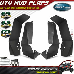 4x-Mud-Flaps-UTV-Fender-Flares-for-Polaris-RZR-S-900-RZR-S-1000-RZR-4-900-15-18