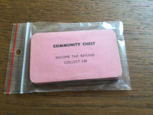 Monopoly Spares Vintage /& Modern Cards Hotels Houses Deeds Figures Dice Boards