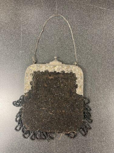 1920's Vintage Black Handbag and 1920's Vintage Co