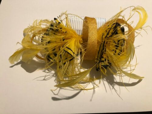 Details about  /Women Girl Flower Feather Corsage Hair Clips Hairband Bracelet Cosplay