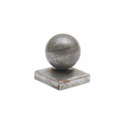Metal Ball Top Square Post Top Caps Fence Gates Railings 40mm-100mm