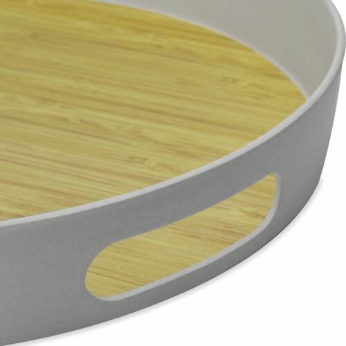 Round Bamboo Fibre TrayM/&W