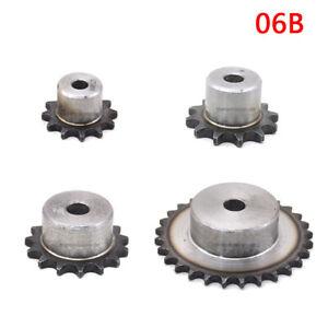 Kettenrad Typ 06-B Zähnezahl 27 Material C 45 außengehärtet ETKR-06B-27