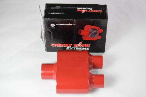"""Ford F-150 04-14 2.5/"""" Stainless Dual Exhaust Kit Cherry Bomb Extreme BLK Tip"""