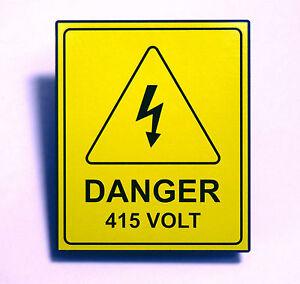 Danger deep water COUN0020 Stickers /& Signs