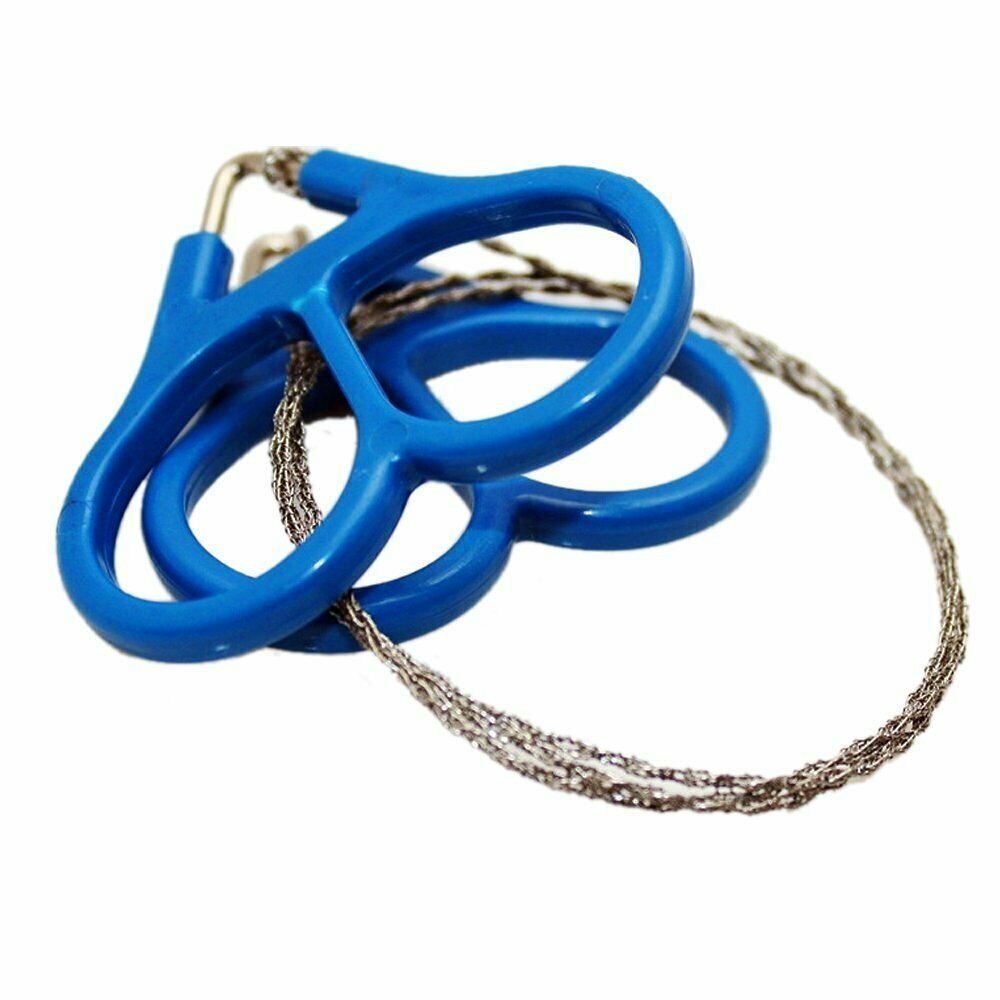 Wire Saw Camping Stainless Steel Emergency Pocket Chain Saw Survival Gear T