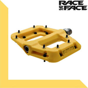 """Yellow RaceFace Chester Pedals 1 Pair BMX Mountain Bike Pedals 9//16/"""""""