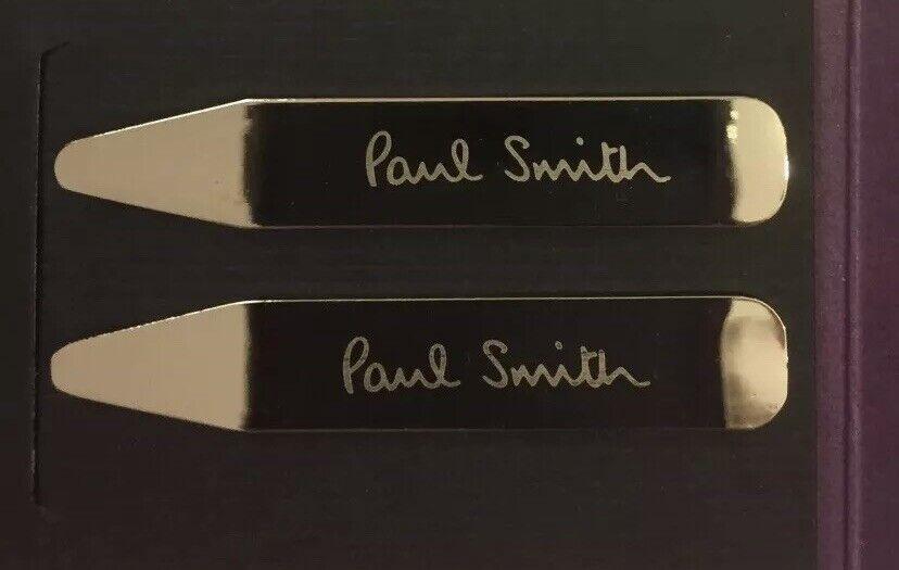 Paul Smith London Grabado Cuello de Metal permanece huesos larguerillos-un Par-Nuevo