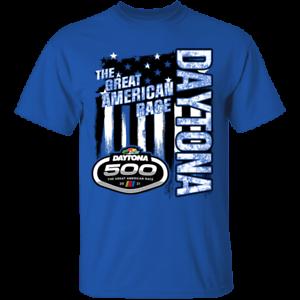 Men S 2021 Daytona 500 Checkered Flag Flag Nascar Racing Royal T Shirt S 4xl Ebay