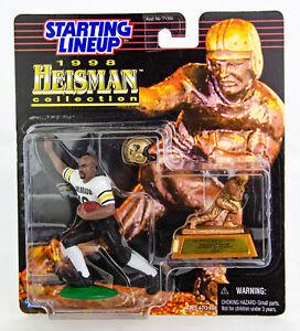 Vintage 1998 Kenner Starting Lineup NFL Heisman Collection Rashaan Salaam Figure