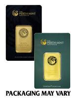 Perth Mint Australia 1 Oz. .9999 Gold Bar in Assay