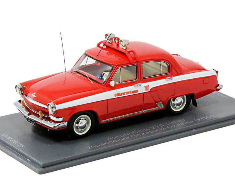 bienvenido a orden GAZ-21L    Volga  bomberos 1970 USSR Neo-VVM 1 43  a la venta
