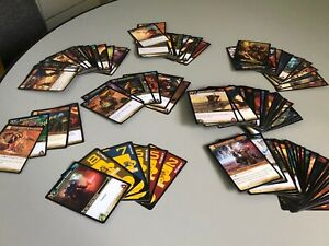 World-of-Warcraft-TCG-Wow-Trading-Cards-Lot-of-130-Loose-Blizzard