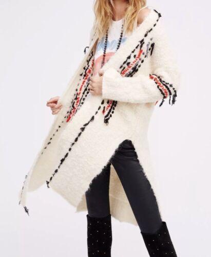 maglione People Xs maglina avorio Geneva Cardigan taglia New Free cappotto in giacca 0qOAA7