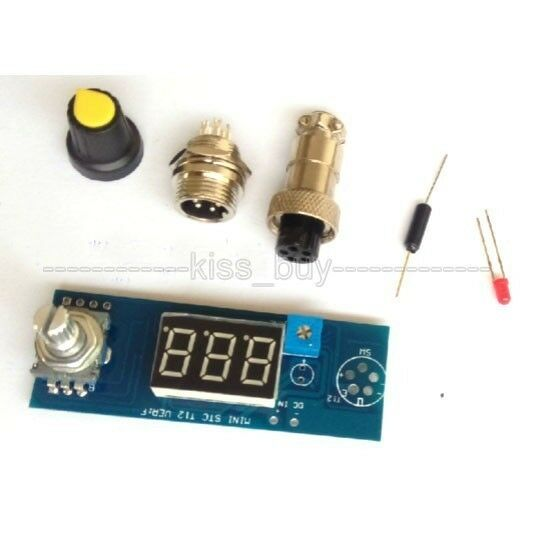 Digital Soldering Iron Station Temperature Controller for HAKKO T12 T2 Handle