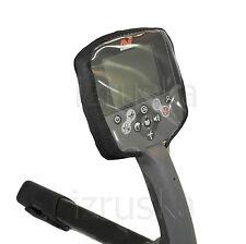 Black Control Box Cover Metal Detector Minelab CTX 3030 (kit - 2pc)