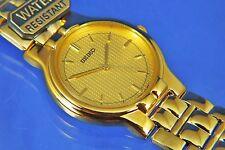 Vintage Seiko Quartz Dress Watch Ref SFWA22P , V701-A090 NOS New Circa 1980s