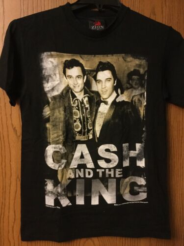 "Johnny Cash & Elvis Presley.  ""Cash And The King""."