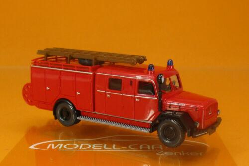 Wiking 086398 Magirus bomberos lf 16 rojo scale 1 87