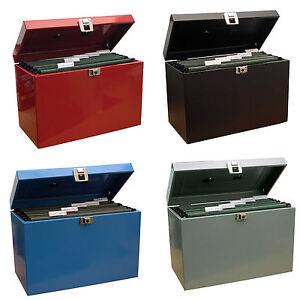 Bloccabile-Foglio-Protocollo-Metallo-Casella-Di-File-Archiviazione