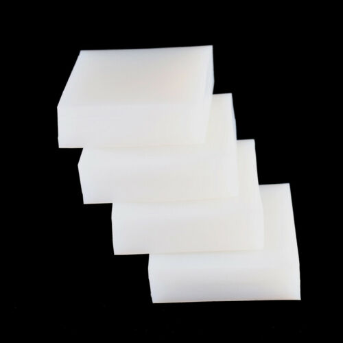 Weißes Silikon Gummi Blatt Pad 50x50mm 100x100 200x200 300X300mm Dicke 5mm~50mm