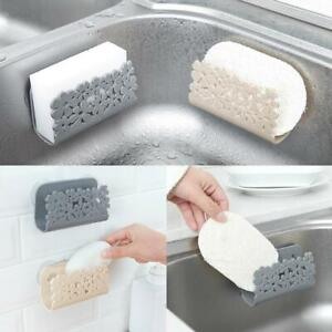 Sponges-Holder-Rack-Drying-Sink-Storage-Cup-Dish-Scrubbers-Bathroom-Soap-U3K3