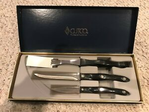 Details About Cutco The World S Finest Cutlery Knives Set Of 3 Models 1720 1721 1726 In Box