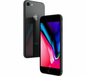 NEW SPACE GRAY T-MOBILE 64GB APPLE IPHONE 8 SMART PHONE JA83