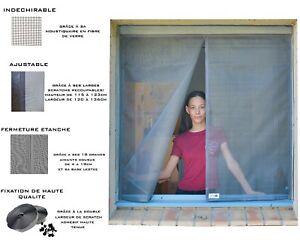 Aimable Moustiquaire Ajustable Aimantée Tranquilisafe® Pour Fenêtre (120/136 - 125/133) Vente Chaude 50-70% De RéDuction